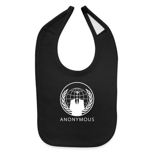 Anonymous 1 - White - Baby Bib