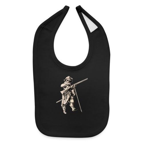 Soldier with mosquet - Baby Bib