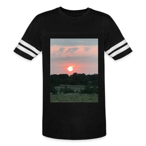 Nature Sunset - Vintage Sport T-Shirt