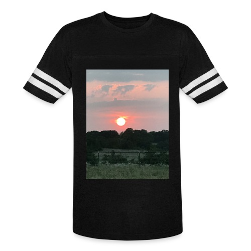 Nature Sunset - Vintage Sport T-Shirt