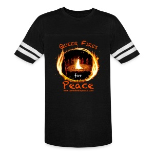 Queer Fires for Peace - Vintage Sport T-Shirt