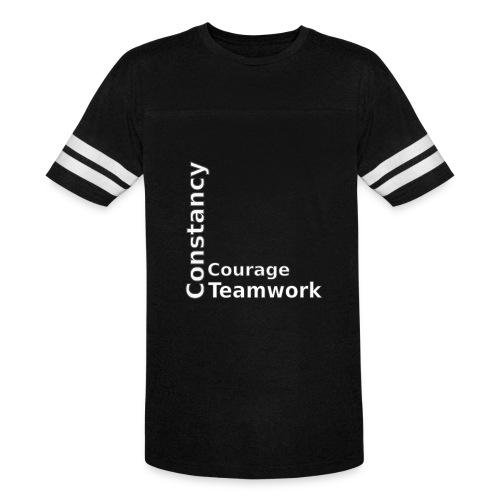 constancy courage teamwork - Vintage Sport T-Shirt