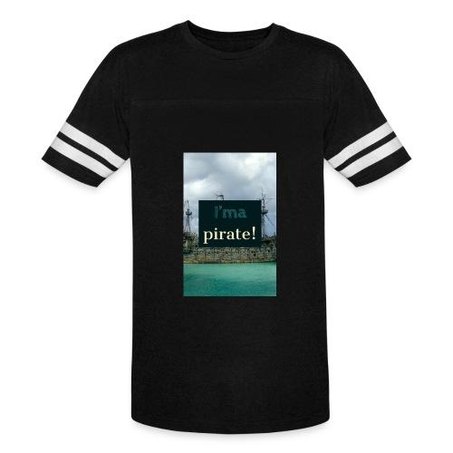 I 'ma Pirate | Men's Uni T-shirts - Vintage Sport T-Shirt
