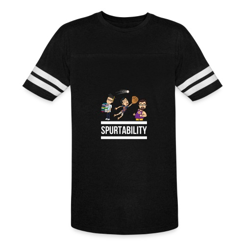 Spurtability White Text - Vintage Sport T-Shirt