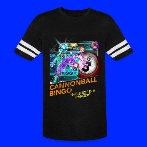 Vintage Cannonball Bingo Box Art Tee - Vintage Sport T-Shirt