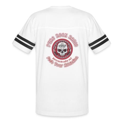 PRR Molenoise Skull (Front) + Circle Logo (Back) - Vintage Sport T-Shirt