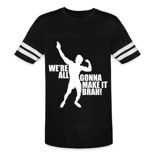 Zyzz Silhouette we're all gonna make it - Vintage Sport T-Shirt