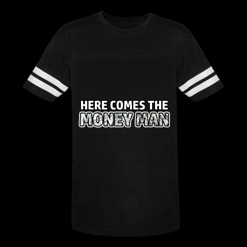 Here Comes The Money Man - Vintage Sport T-Shirt