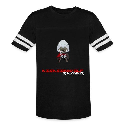 heather gray assassinwolf Tee - Vintage Sport T-Shirt