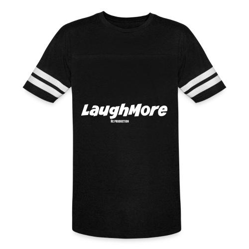 LAUGH MORE T-SHIRTS - Vintage Sport T-Shirt