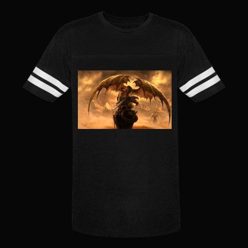 Dragon féroce - Vintage Sport T-Shirt