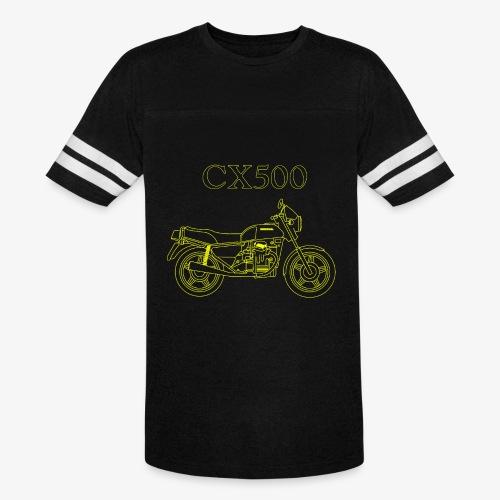 CX500 line drawing - Vintage Sport T-Shirt