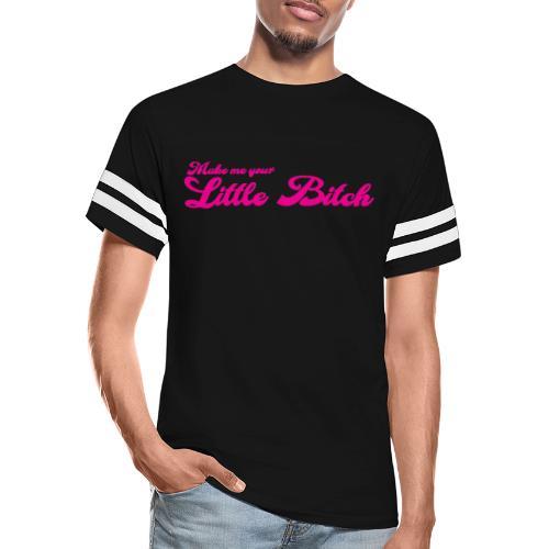 Little Bitch - Cum Wh#re (back) - Vintage Sports T-Shirt