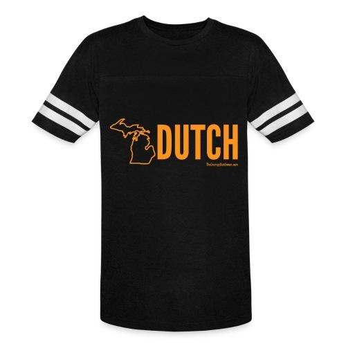 Michigan Dutch (orange) - Vintage Sport T-Shirt