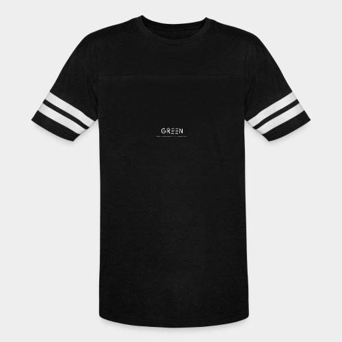 Green/Gorgeous reason evolving, ending never logo - Vintage Sport T-Shirt