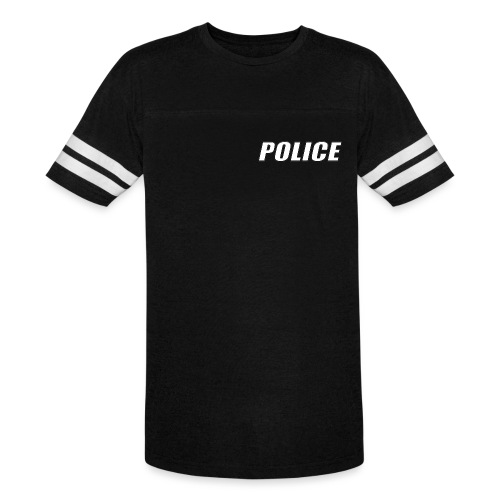 Police White - Vintage Sport T-Shirt