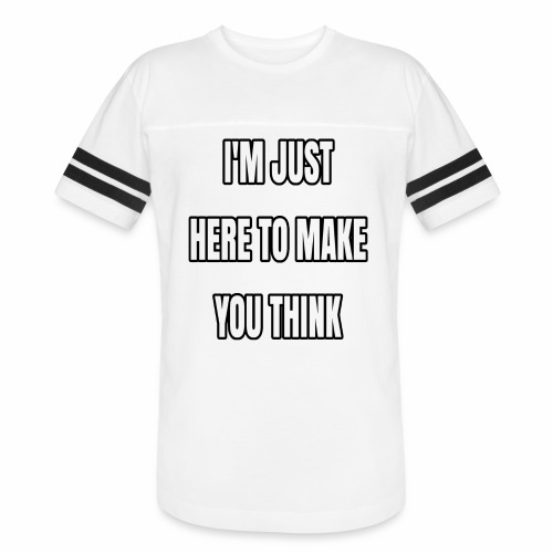 IJHTMYT (White Font) - Vintage Sport T-Shirt