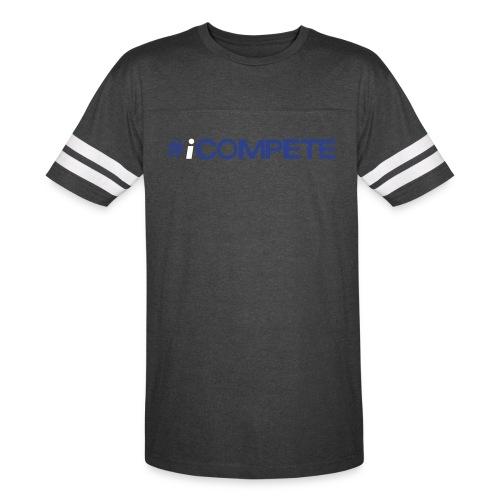 icompete_logo_final_outli - Vintage Sport T-Shirt