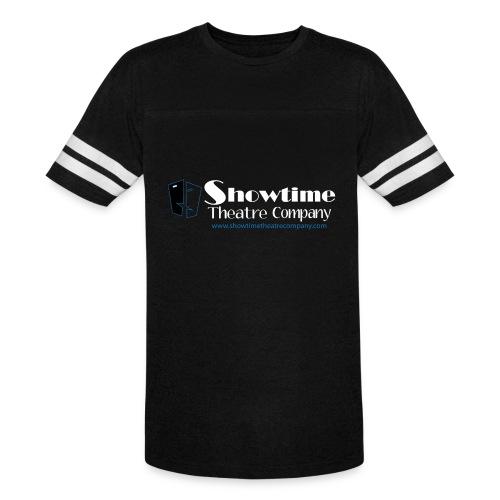 showitme logo blue white large png - Vintage Sport T-Shirt