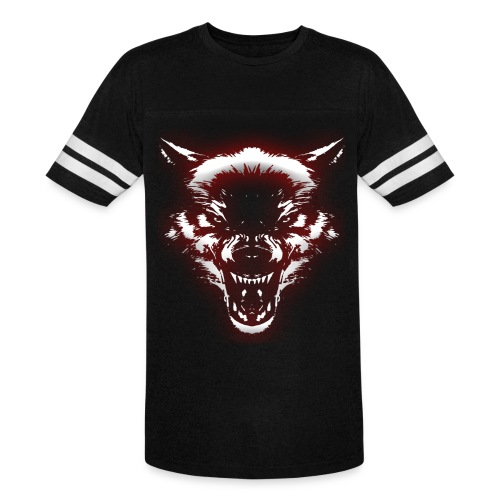 Angry Wolf - Vintage Sport T-Shirt