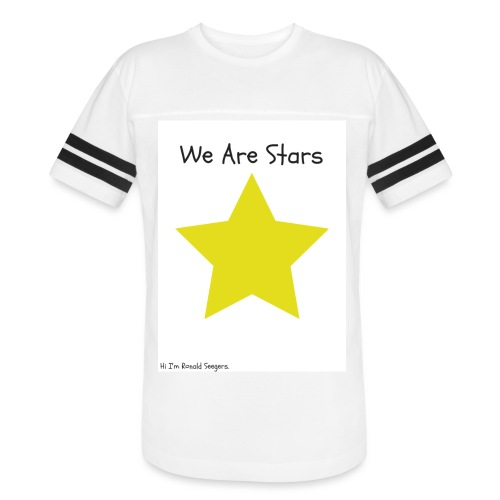 Hi I'm Ronald Seegers Collection-We Are Stars - Vintage Sport T-Shirt