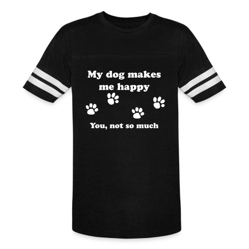 dog_happy - Vintage Sport T-Shirt