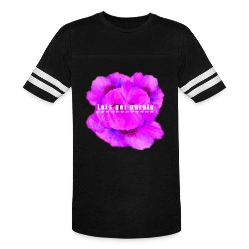 lets_get_purple_2 - Vintage Sport T-Shirt