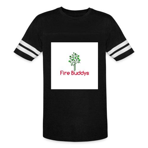 Fire Buddys Website Logo White Tee-shirt eco - Vintage Sport T-Shirt
