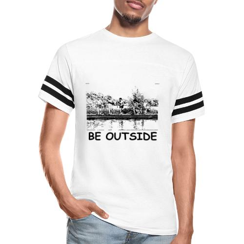 Be Outside - Vintage Sport T-Shirt