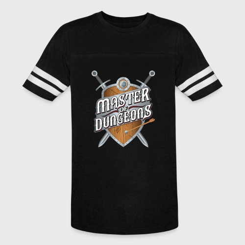 master of dungeons shield and swords fantasy gift - Vintage Sport T-Shirt
