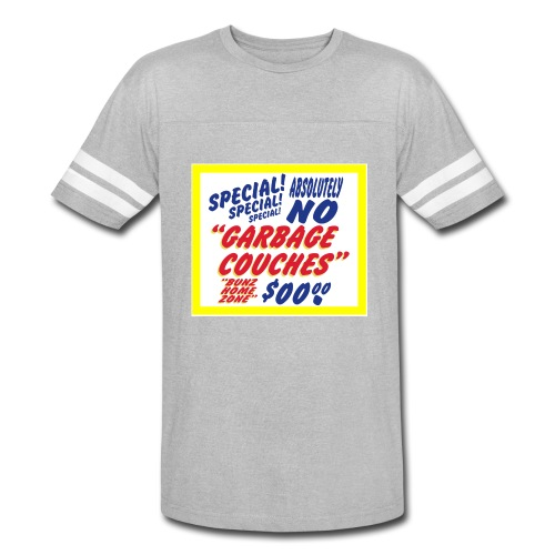 Bunz Home Zone Loyal Larry Garbage Couch - Vintage Sport T-Shirt