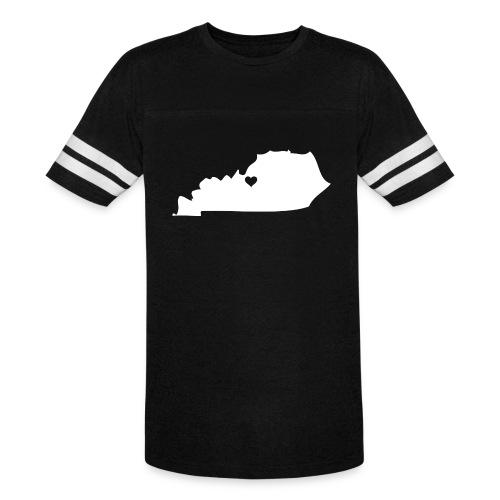 Kentucky Silhouette Heart - Vintage Sport T-Shirt