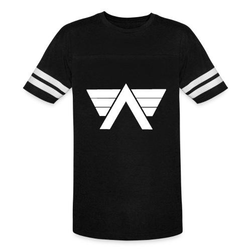 Bordeaux Sweater White AeRo Logo - Vintage Sport T-Shirt