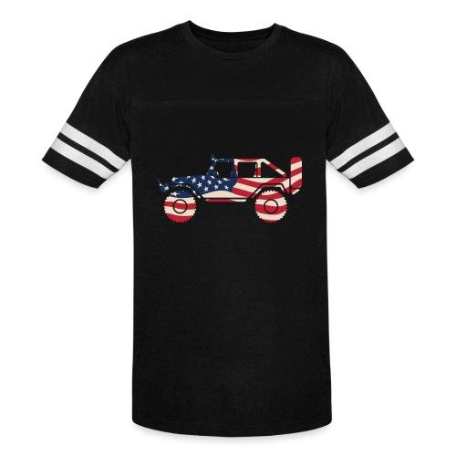 American Patriotic Off Road 4x4 - Vintage Sport T-Shirt