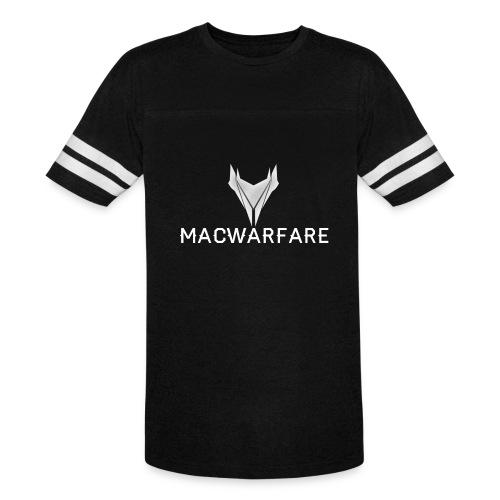 MacWarfare Channel Logo - Vintage Sport T-Shirt