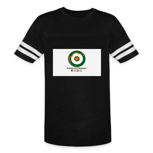 David Doyle Arts & Photography Logo - Vintage Sport T-Shirt