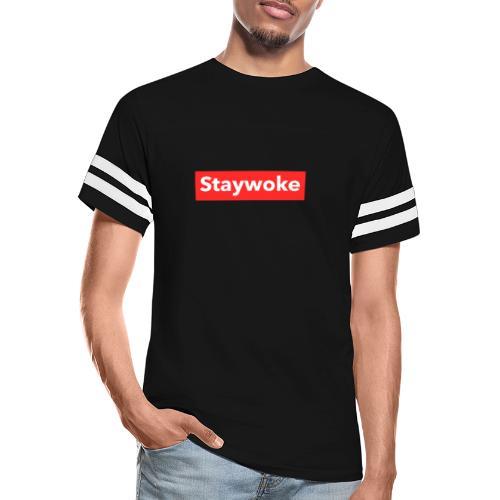 Stay woke - Vintage Sport T-Shirt