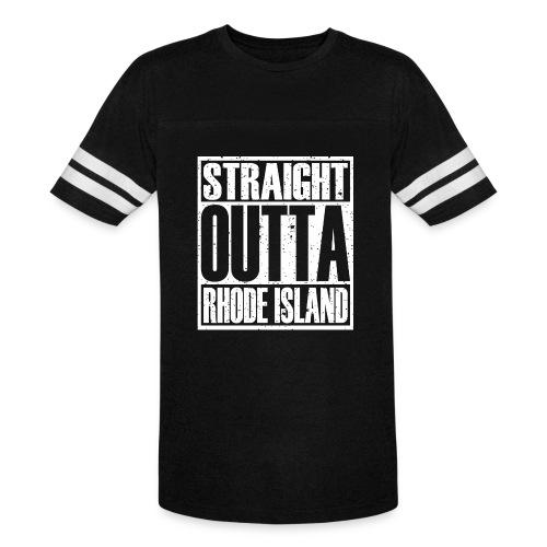 Straight Outta Rhode Island - Vintage Sport T-Shirt