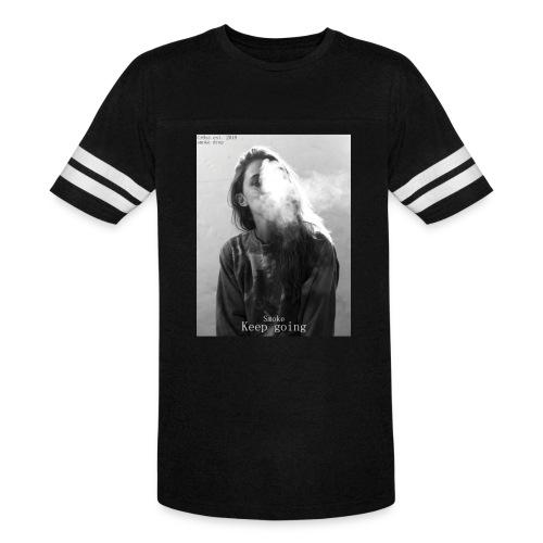 Cr0ss Smoke drop - Vintage Sport T-Shirt