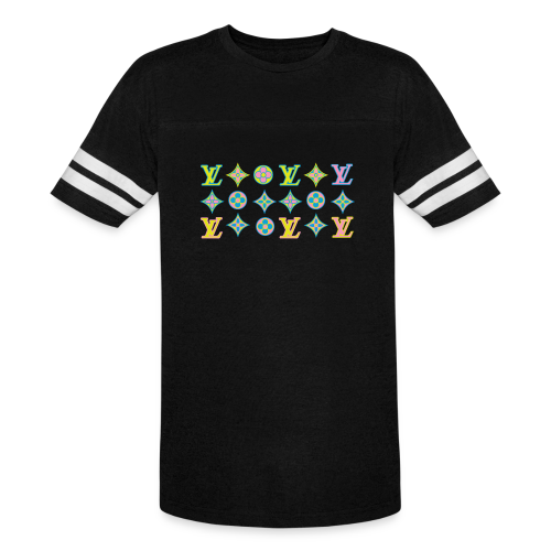custom coloured LV pattern. - Vintage Sport T-Shirt