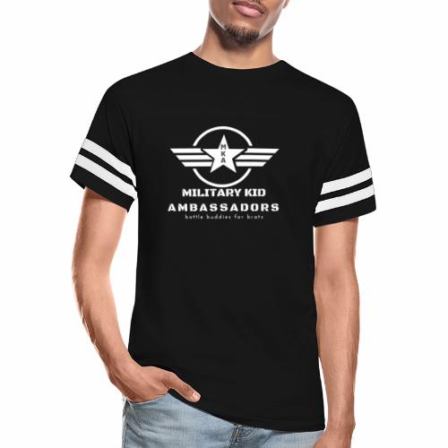 Military Kid Ambassador White - Vintage Sport T-Shirt