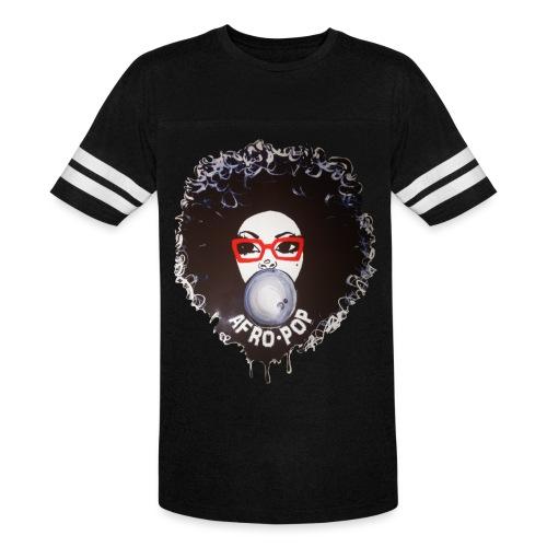 Afro pop_ - Vintage Sport T-Shirt