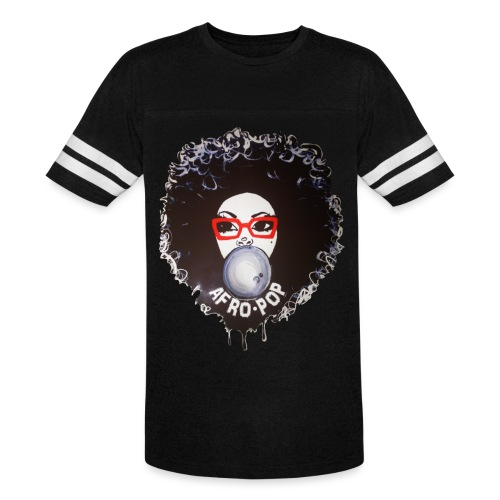 Afro pop_ - Vintage Sports T-Shirt