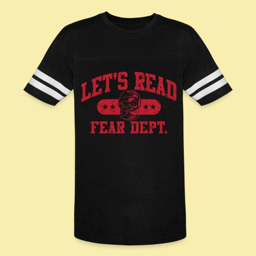 Fear Dept - Athletic Red - Inverted - Vintage Sport T-Shirt