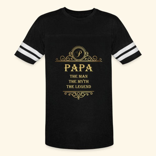 Papa the man the myth the legend - 2 - Vintage Sport T-Shirt