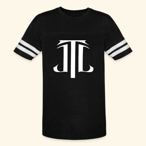 JLT Letters Only - White - Vintage Sports T-Shirt
