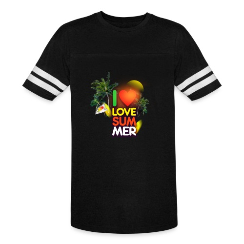 I love summer - Vintage Sport T-Shirt