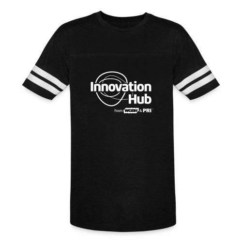 Innovation Hub white logo - Vintage Sport T-Shirt