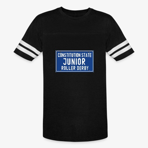 Constitution State Junior Roller Derby - Vintage Sport T-Shirt