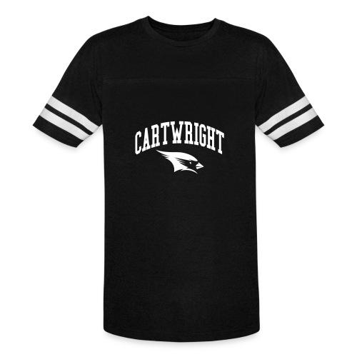 Cartwright College Logo - Vintage Sport T-Shirt